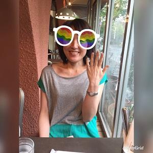 大阪在住の44歳歯科助手Mさん、初お見合いのお相手とご成婚