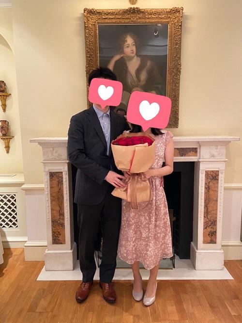 27歳女性・2歳年上の男性とご成婚!