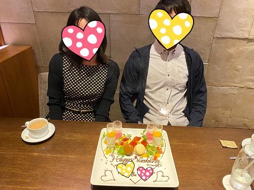32歳士業の女性、2歳年上の研究職の彼とご成婚!